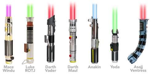 Как сделать световые мечи all-he