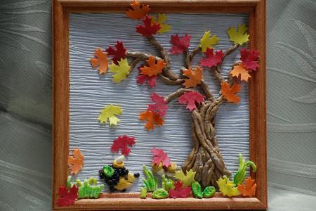 Работы и поделки на тему Осень своими руками