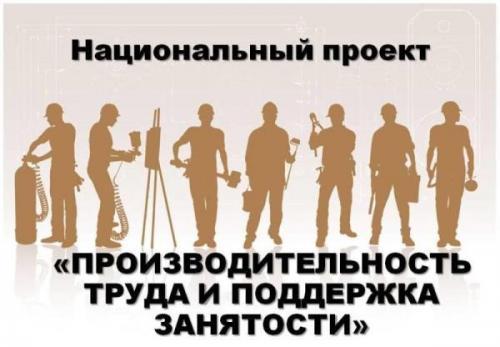 Мероприятия реализации национальных проектов «Демография» и «Производительность труда и поддержка занятости»